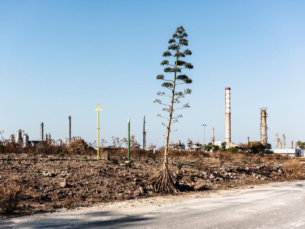 Ölraffinerien von Lukoil, Priolo Gargallo, 2019